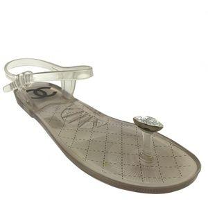 Chanel Diamond Beach Jelly Sandals